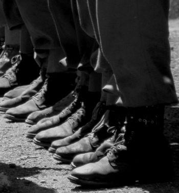 army boots schoenen