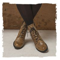 wolky white combat boot Red Deer