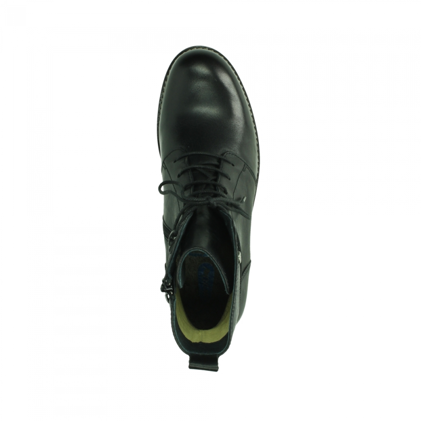 Wolky Shoes 04438 Murray CW black leather Cold Winter Warm