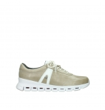 wolky lace up shoes 02050 nano 30381 sand white leather