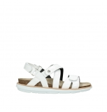wolky sandalen 08480 sunstone 60100 white patent leather