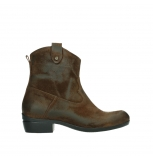 wolky ankle boots 00960 finley 45410 tobacco suede