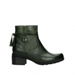 wolky ankle boots 01378 pamban 39730 forestgreen leather