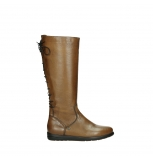 wolky long boots 02426 vector 20430 cognac leather
