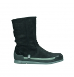 wolky mid calf boots 02776 greene 13000 black nubuckleather