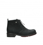 wolky ankle boots 04443 fairy 11000 black nubuck