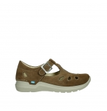 wolky mary janes 06605 smiley 40310 mid brown suede