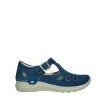 wolky mary janes 06605 smiley 40820 denim blue oiled suede