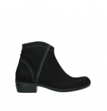 wolky ankle boots 00952 winchester 13000 black nubuckleather