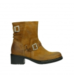 wolky ankle boots 01265 raymore 45925 dark ocher suede