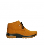 wolky lace up boots 03025 dub 11925 dark ocher yellow nubuck