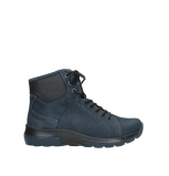 wolky lace up boots 03026 ambient 11800 blue nubuck