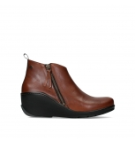 wolky ankle boots 03875 anvik 30430 cognac leather