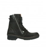 wolky ankle boots 07640 partizan 45000 black suede