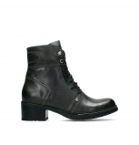 wolky ankle boots 01260 red deer 30210 anthracite leather