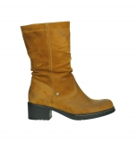 wolky mid calf boots 01261 edmonton 45925 dark ocher suede