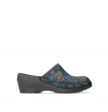 wolky clogs 06075 pro clog 45000 flower black