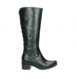 wolky long boots 07505 seoul 30000 black leather