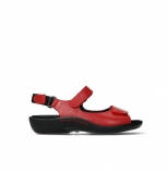 wolky sandalen 01300 salvia 30500 red leather