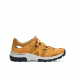 wolky lace up shoes 03028 nortec 11550 orange ochre nubuck