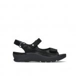 wolky sandalen 03927 delft 15000 black nubuck