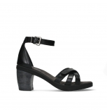 wolky sandalen 07425 exit 20000 black leather