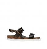 wolky sandalen 08225 minori 30320 bronze leather