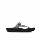 wolky slippers 00821 peace 98150 snake print leather taupe