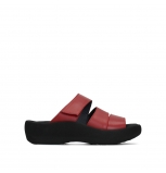 wolky slippers 03207 aporia 30500 red leather