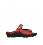 wolky slippers 03926 zaandam 35526 scarlet red leather