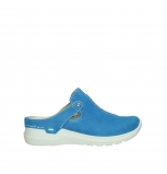 wolky slippers 06600 holland 11865 royal blue nubuck