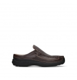 wolky heren slippers 09210 roll slide men 50300 brown leather