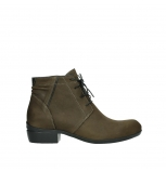 wolky lace up boots 00955 delano 13410 tabaccobrown nubuckleather
