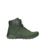 wolky lace up boots 03026 ambient 11735 forest green nubuck