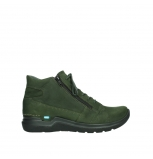 wolky lace up boots 06606 why 11735 forest green nubuck