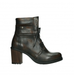 wolky ankle boots 08064 shalkar 27430 cognac effect leather