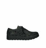 wolky lace up shoes 02325 vic 47210 anthracite suede