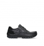 wolky lace up shoes 04701 fly 20080 black leather