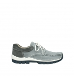 wolky lace up shoes 04750 fly men 10200 grey nubuck