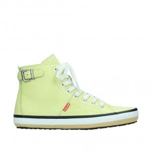01225 Biker 20900 light yellow leather