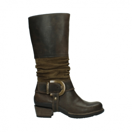 wolky long boots 00481 garda 59151 taupe leather