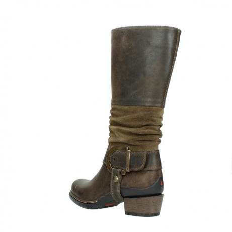 wolky long boots 00481 garda 59151 taupe leather_4