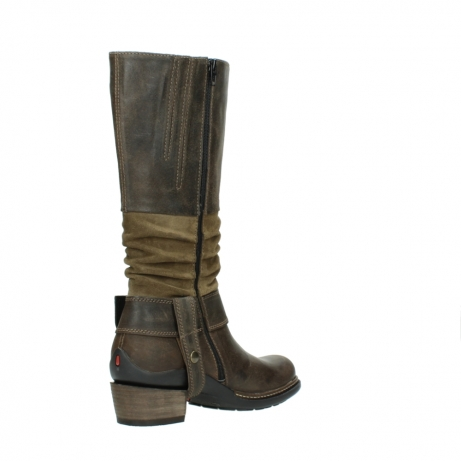 wolky long boots 00481 garda 59151 taupe leather_10