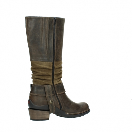 wolky long boots 00481 garda 59151 taupe leather_11
