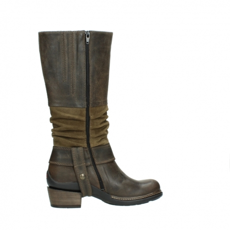 wolky long boots 00481 garda 59151 taupe leather_12