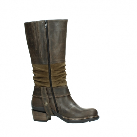 wolky long boots 00481 garda 59151 taupe leather_14