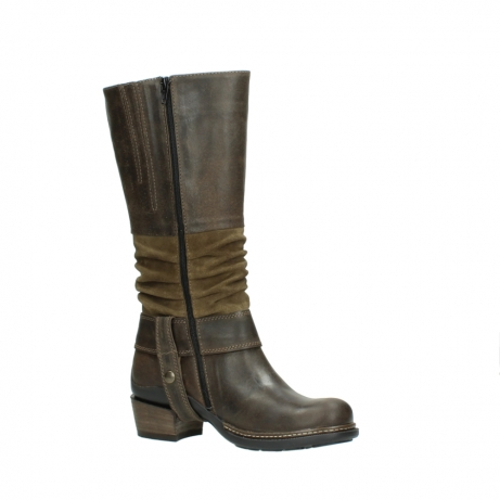 wolky long boots 00481 garda 59151 taupe leather_15