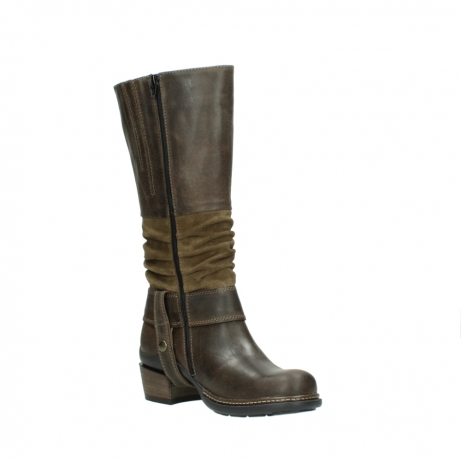 wolky long boots 00481 garda 59151 taupe leather_16