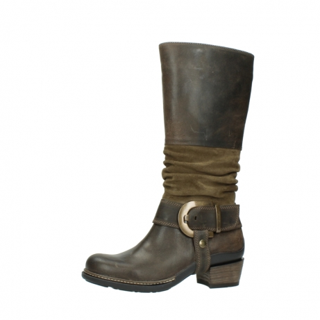 wolky long boots 00481 garda 59151 taupe leather_24