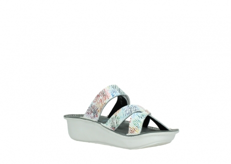 wolky slippers 00878 barbados 70980 white multi color canal leather_16